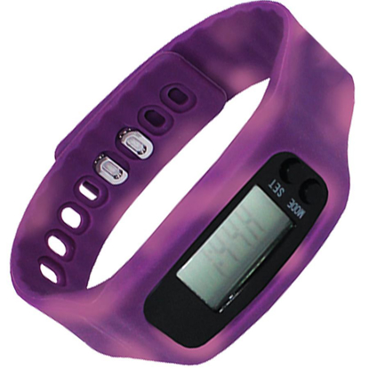 Picture of Color Changing Watch Pedometer - Purple/Pink